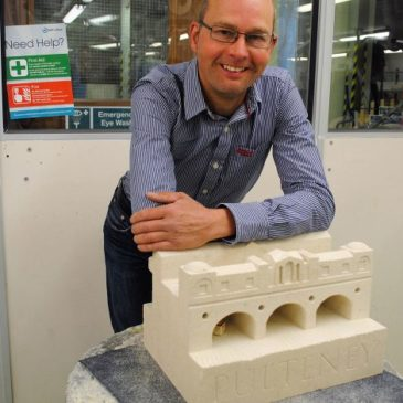 Sixteen Bath College students compete in 'nerve-wracking' stonemasonry competition